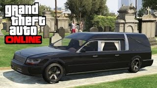 GTA 5 Online - How to Find a Romero Hearse