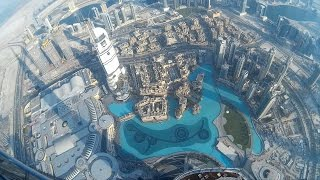 Burj Khalifa - TOUR and VIEW from the 148th floor [At The Top SKY]