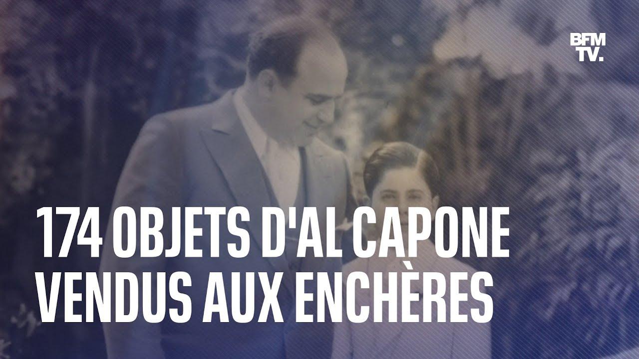 174 objets ayant appartenu à Al Capone vont être vendus aux enchères