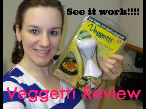 Veggetti- As Seen On TV Review And First Impression Mp3
