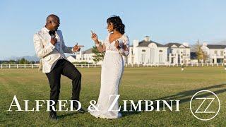 Alfred & Zimbini Stunning African Wedding | Zarazoo Cine
