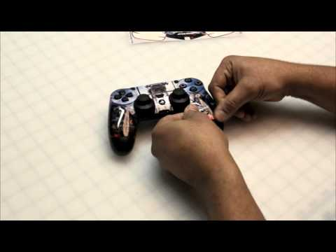 PS4 Controller Skin Application Instruction