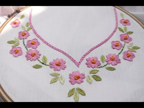 Neck Embroidery Designs