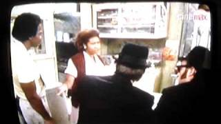 Scene from 'Blues Brothers' with Aretha Franklin