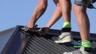 Steeline Installing the Roof's Ridge Capping