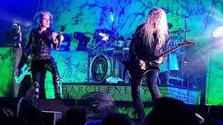 Arch Enemy - Reason To Believe + Dead Eyes See No Future Live Estragon Bologna 12/06/2018
