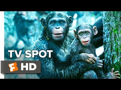 War for the Planet of the Apes TV Spot - A Hero Becomes Legend (2017) | Movieclips Coming Soon