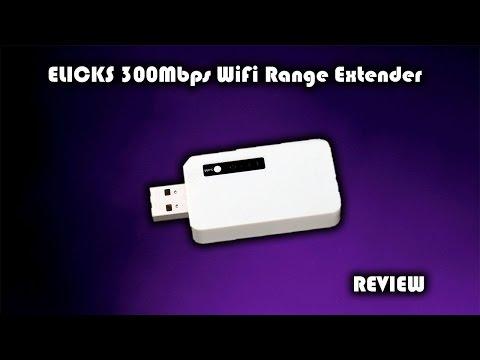 ELICKS 300Mbps USB WiFi Range Extender Review