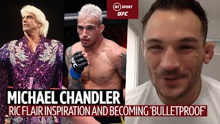 Michael Chandler on becoming UFC Champion and being inspired by Ric Flair and Rey Mysterio!