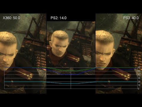 Metal Gear Solid 3: PS2 vs. PS3 vs. Xbox 360 Frame-Rate Tests