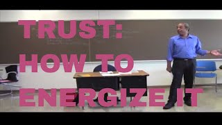 VIDEO:  TRUST:DON'T SELL, ANYTHING