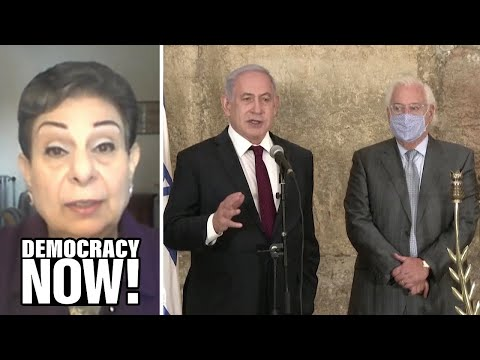 Palestinian Official Hanan Ashrawi: Trump's Morocco-Israel Deal Legitimizes Land Theft & Occupation