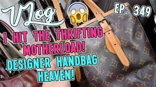 I HIT THE THRIFTING MOTHERLOAD | THRIFT VLOG EP. 349