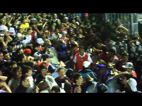"""LOS CAUDILLOS DEL PARQUE.. A PURO RITMO!!. vs cruzero del norte"" Barra: Los Caudillos del Parque • Club: Independiente Rivadavia"