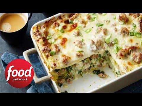 Next-Level Sausage Gravy Breakfast Lasagna | Food Network
