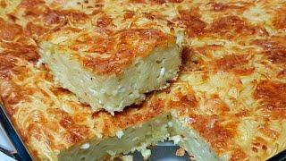 מתכון לפשטידת איטריות דקות גבינה ושמן זית