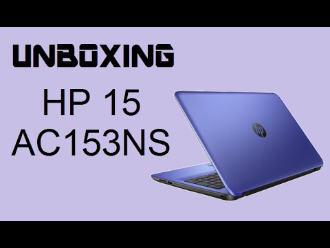 UNBOXING | HP 15-AC153NS