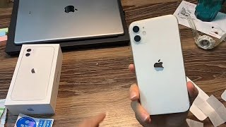 iPhone 11 White Unboxing