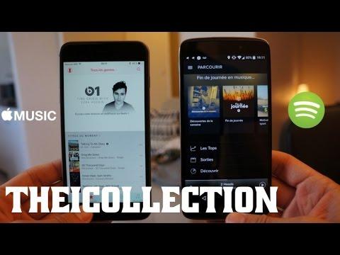Apple Music Vs Spotify : Lequel choisir ?
