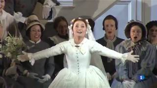 Julia Lezhneva - Entrevista para TVE sobre 'Don Giovanni' en el Liceu
