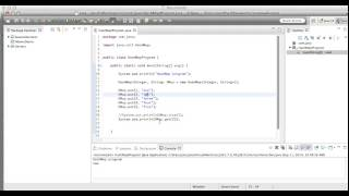 Hashmap in java with example program