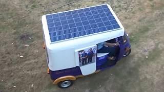 Self Power Generating E Rickshaw & Bike
