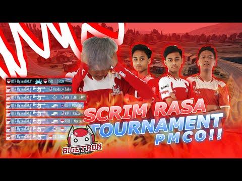 SCRIM RASA TOURNAMENT PMCO?! - PUBG MOBILE INDONESIA