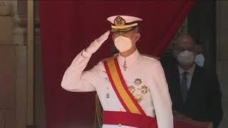 S.M. el Rey preside la entrega de Reales Despachos de Empleo en la Escuela de Suboficiales de la Armada