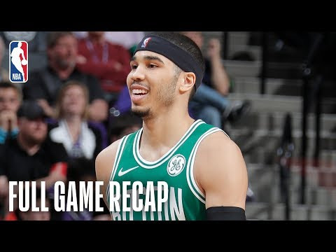 CELTICS vs KINGS | Boston & Sacramento Go Down To The Wire  | March 6, 2019