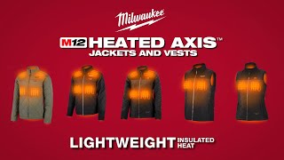 Watch Milwaukee M12 Heated AXIS Jackets and Vests