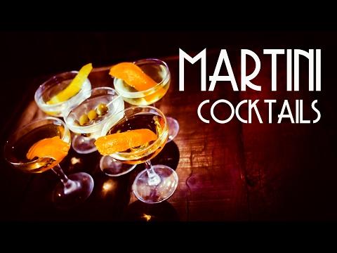 Video Martini Cocktails