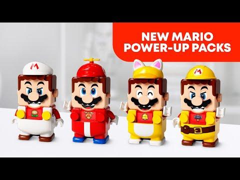 全新《樂高超級瑪利歐》力量升級包發佈!(NEW LEGO Super Mario Power-Up Packs)