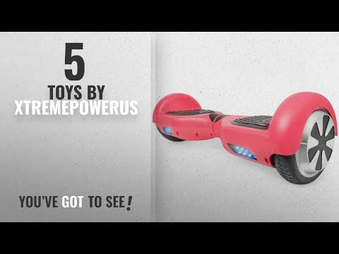 "Top 10 Xtremepowerus Toys [2018]: XtremepowerUS 6.5"" Self Balancing Hoverboard Scooter w/ Bluetooth"