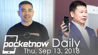 Huawei Passes Apple in Sales, LG V40 announcement & more - Pocketnow Daily