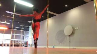 Goodnight Gotham ANTI Rihanna Pole Dance Choreography