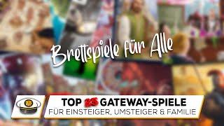 Top 25 Gateway Spiele - Brettspiel-Einstieg für JEDEN