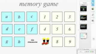 Drag & Drop Templates - Memory Game
