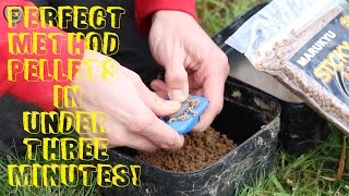Method Feeder Fishing - Perfect Feed Pellets In Under 3 Minutes!