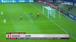 Copa América, Grupo C: Ecuador 1-1 Japón