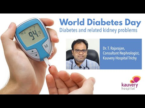World Diabetes Day - Diabetes and related Kidney P...