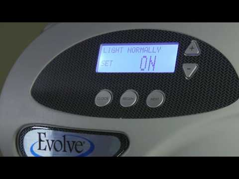 Learn how to set the time, date, hardness setting, days between regeneration, service reminders, and more on the Evolve® Series water softener in your home.