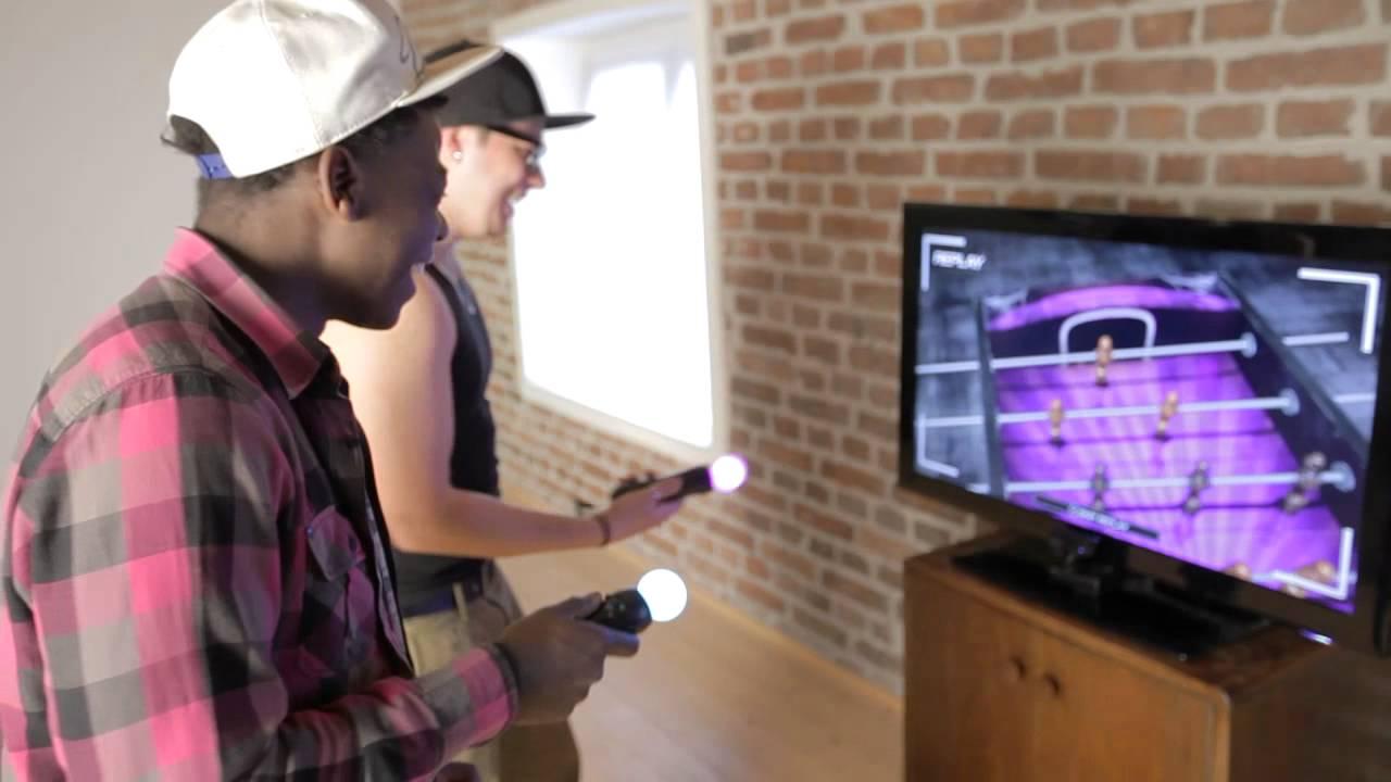 Foosball 2012 Dev Diary: PlayStation Move Motion Controls