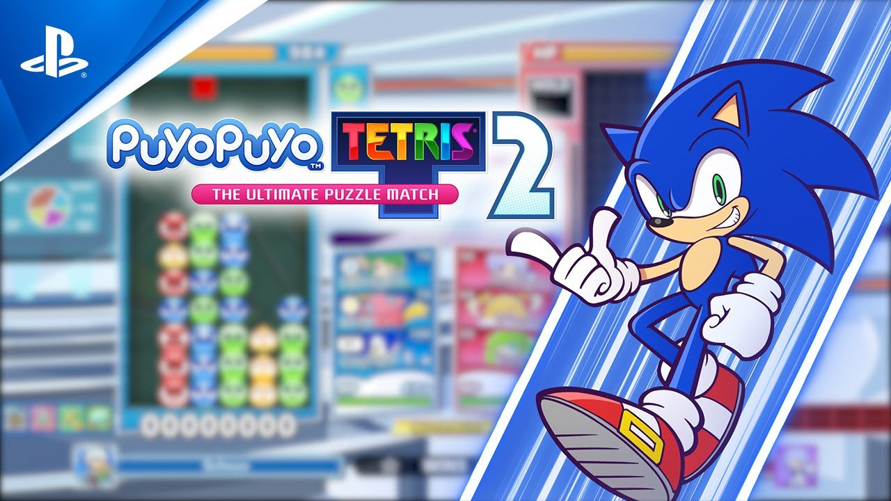 Sonic the Hedgehog dashes into Puyo Puyo Tetris 2 today in a free update