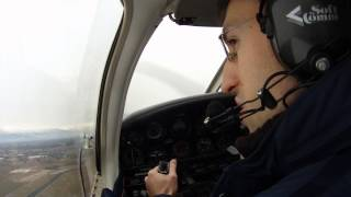preview picture of video 'Piper 28 Warrior Touch & Go at Turin Caselle Airport'