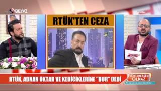 Adnan Oktar'a RTÜK'ten ceza!