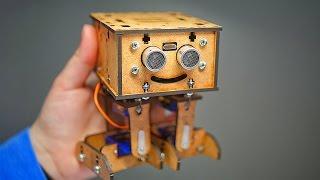 Мини Робот Своими Руками   AlphaDroid V1.0