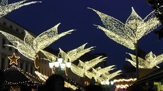 preview picture of video 'Sternschnuppenmarkt / Twinkling Star Christmas Market Wiesbaden 2014'