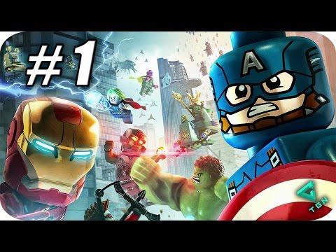 Gameplay de LEGO MARVEL's Avengers Deluxe Edition
