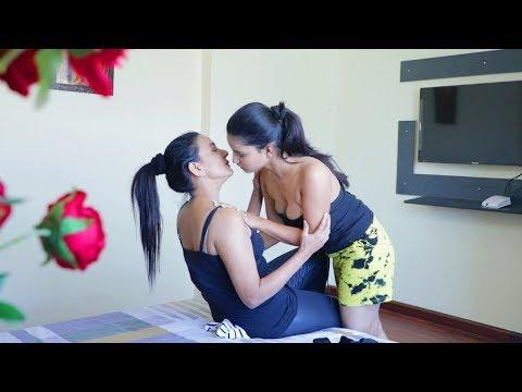 दो औरतो का प्यार - नजयाज संबन्ध - Lesbian love - sex video - xxx hd video