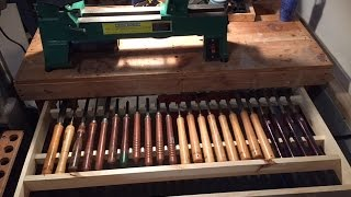 Lathe Tools Drawer